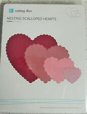 Nesting Scalloped Hearts X 4 Cutting Dies - QuicKutz