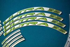 CAMPAGNOLO BORA ULTRA 35 3D TEAM MOVISTAR REPLACEMENT RIM DECAL SET FOR 2 RIMS