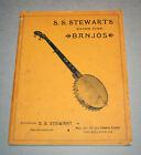 S.S.Stewart Banjo Co.Philadelphia PA 1890s Catalog (1973 Replica)