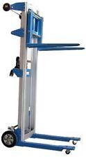 Carrello Elevatore Manuale Smontabile Leggero in Alluminio P. Kg.227 H. mm.1250