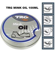 TRG Mink Oil 100 ML Protect & Soften Leather WATERPROOFER Conditioner Shoes Bags