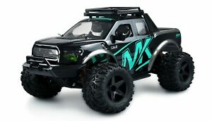 RC Monstertruck Warrior Monster Truck 1:10 RTR schwarz/blau mit Akku