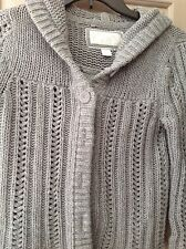 American Eagle  Sweater gray NWT long sleeve M cotton blend juniors