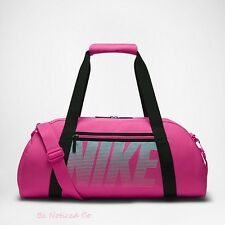 Nike Gym Club Training Duffel Bag Pink Turquoise Back Pack Casual Training New
