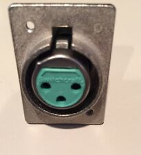 Switchcraft D3F XLR Socket Without Push Release And Raised Lip