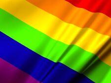 Large Pride Flag 5ft x 3ft LGBT Rainbow Gay Festival Diversity Lesbian Parade