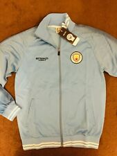 Manchester City Football Jacket XL Blue