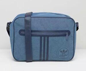 Adidas Originals Airliner Bag Suede Tecink/Conavy BNWT