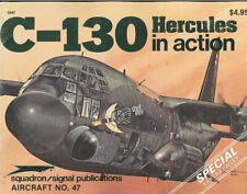 SQUADRON SIGNAL C-130 HERCULES IN ACTION USAF ANG USN USMC VMGR USCG AC-130 VIET