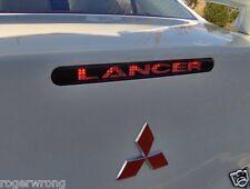 Mitsubishi Lancer 3rd brake light decal overlay 2009-2017 16 15 14 13 12 11 2010