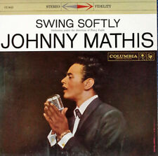 JOHNNY MATHIS - SWING SOFTLY - COLUMBIA 8023 - 1958 LP- ALTERNATE COVER - 6 EYED