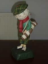 Vintage Dunlop Man Large Golf Shop Advertising Figure Statue Figurine