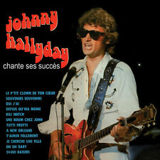 CD Johnny Hallyday chante ses succès