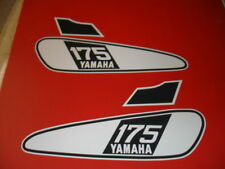 1976 YAMAHA DT 175 GAS TANK DECAL SET AHRMA
