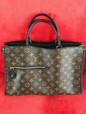 Louis Vuitton Popincourt MM Monogram Handbag - with LV receipt