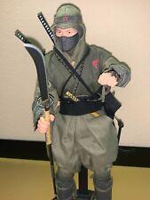 "GI Joe Cobra Green Ninja Viper 12"" Sideshow Collectibles 1/6 scale Exclusive"