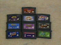 Lot of 10 Nintendo Game Boy Advance Games GBA Spyro Crash Tony Hawk Namco