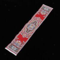 1//12 Scale Turkish Woven Blanket Carpet Dollhouse Accessories Carpet Toys L2G5