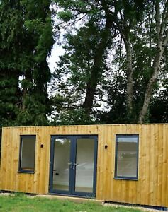 Garden Room Luxury Steel Frame, Office/Gym/Studio 150sq Ft - NEW - Portable