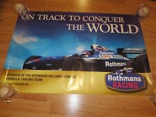 Williams Renault Formula One Racing Poster