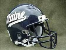 MAINE BLACK BEARS THROWBACK FOOTBALL MINI HELMET