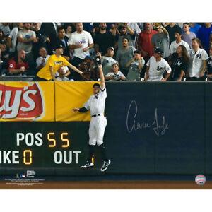 """AARON JUDGE Autographed 16"""" x 20"""" """"ALDS Game 3"""" Photograph FANATICS"""