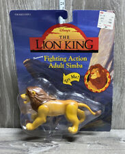 Vintage Disney Mattel The Lion King  Fighting Action Adult Sima Figure New