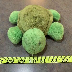 Flip Flops Turtle Plush Mary Meyer Stuffed Animal Toy 2001 Green Turtle Plush
