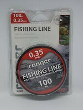 Monofil ficelle 0,04 €//m 100m Fil de pêche robinson titan power Carp camouflage