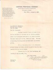 1917 LAWYERS MORTGAGE COMPANY New York RICHARD M. HURD Cecil C. Evers