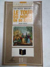 "Collection ""Lecture Facile"" LE TOUR DU MONDE EN 80 JOURS- Jules Verne- 1995 -S3"