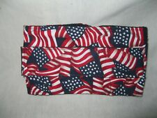 "ULTIMATE DOG Belly Bands Diaper Wrap US Flag SM 15-19 x 5"" Reusable"