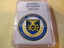 DEFENSE SECURITY SERVICE Challenge Coin