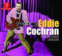 EDDIE COCHRAN - ABSOLUTELY ESSENTIAL 3 CD NEU