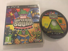 BOXED PAL PLAYSTATION 3 PS3 GAME MARVEL SUPER HERO SQUAD THE INFINITY GAUNTLET