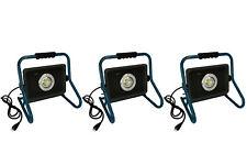 QTY 3 TEMCo HD LED Waterproof Portable Utility Flood Work Light 70W 110 v 120 v