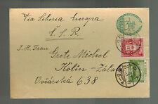 1933 Tokyo Japan Postcard Cover to Kolin Czechoslovakia  2