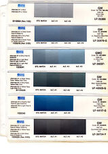 1985 1986 1987 1988 1989-1996 GENERAL MOTOR CARS CORVETTE TRUCKS PAINT CHIPS SW