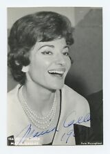 Maria CALLAS (Opera): Signed Portrait Photograph, Laughing