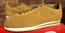 Nike Classic Cortez se UK10.5 US11.5 EUR45.5 Blanco 902801 700 Gamuza de trigo