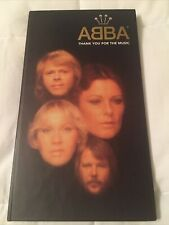 ABBA 4 CD NEW BOX SET THANK YOU FOR THE MUSIC