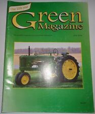 Green Magazine John Deere Tractor G, 3010, 2240, 60 Hi-Crop, Sulky Plows Jd