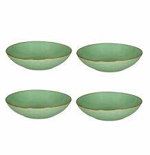 Set of 4 Rose and Tulipani Concerto Bowl 21cm - Tiffany Green