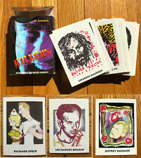 Cold Blooded Killers/Graphic/Murder/Trading Cards/1992/Dahmer/Manson/Gacy/Oswald