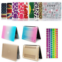 """Matt Hard Case Rubberized Frosted Cover For Macbook Pro13"""" 15"""" / Air 11"""" 13 inch"""
