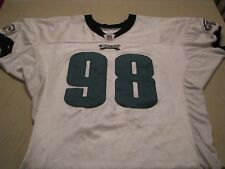Philadelphia Eagles 2005 Game Practice Used Jersey Mike Patterson NFL Football