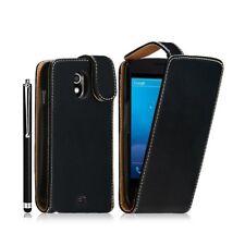 Housse coque étui pour Samsung Galaxy Nexus couleur noir + stylet luxe + film pr