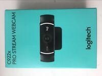 Logitech C922x Pro Stream Webcam 1080p HD Web Camera 60 FPS Recording Streaming