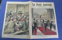 Le petit journal 1894 210 Russie Obsèques du tsar Alexandre III