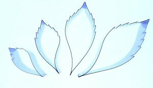 Virginia Creeper Leaf set 62, 50, 37 and 28mm Valley Cutter Company - Sugarcraft